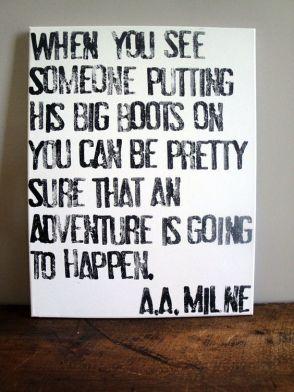 boots adventure milne