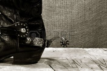 coffee boots black and white