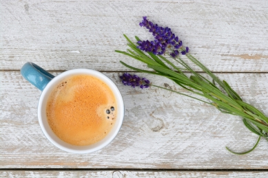 coffee lavender