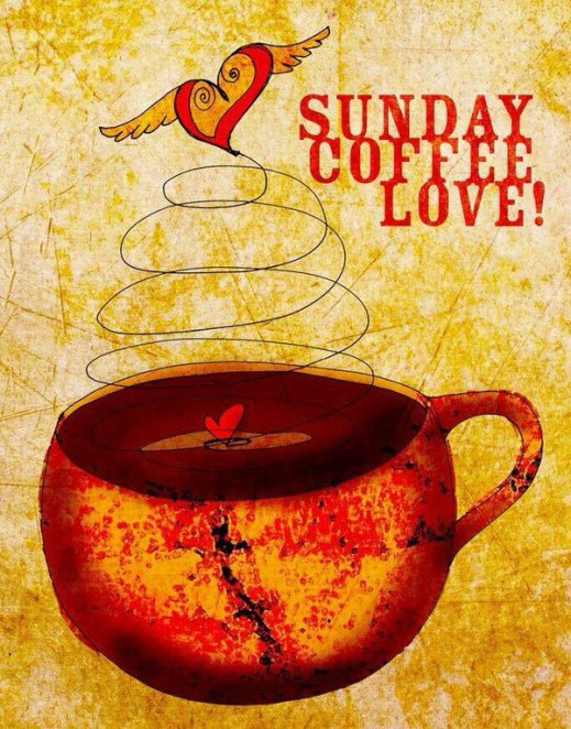 sunday coffee love